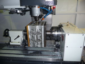 4 Axis CNC Machining